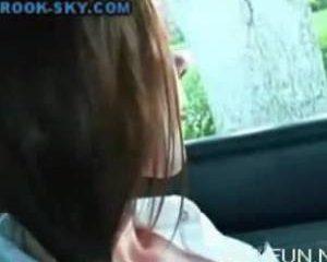 Amateur vingert in de auto